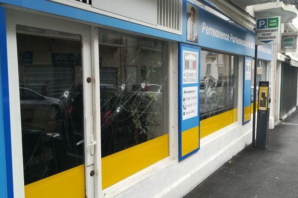 1er septembre 2019, la permanence de Romain Grau est vandalisée pour la deuxième fois à Perpignan.