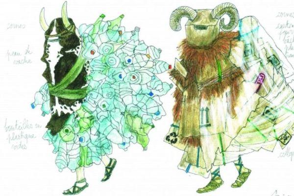 Les costumes concernés par la campagne de financement participatif de l'Opéra de Dijon.