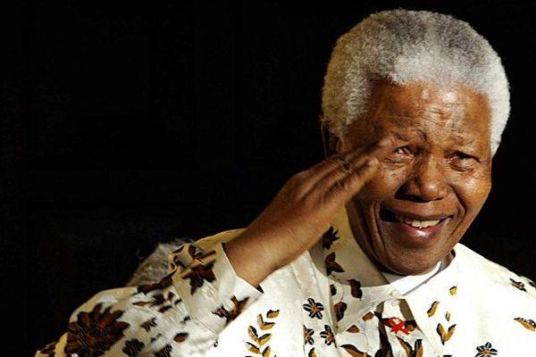 Nelson Mandela - Johannesbourg 07/2003