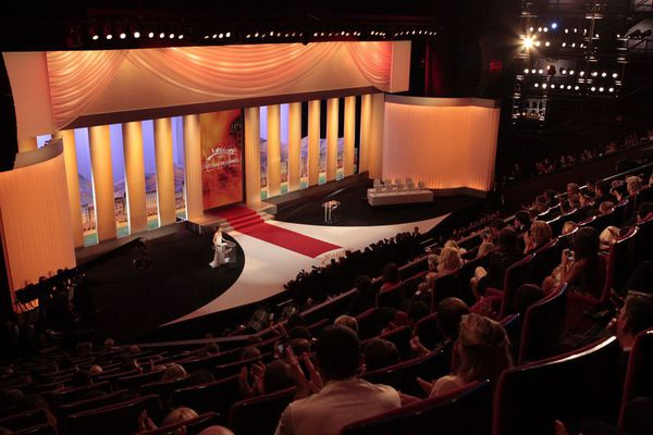 Salle comble pour la cérémonie d clôture du festival de Cannes.