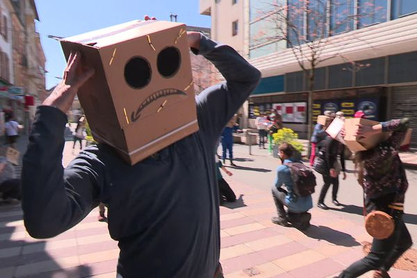 Manifestation anti-Amazon samedi 24 avril au centre-ville de Belfort