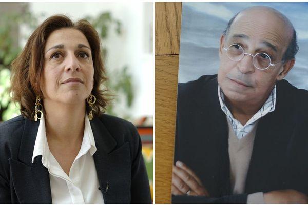 Sarah Daboussi (à gauche) a saisi le Comité des droits de l'homme de l'ONU pour faire faire reconnaître l'implication de l'Etat tunisien dans la mort de son père, Jilani Daboussi (à droite)