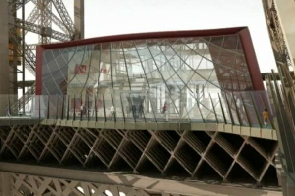 Trois nouveaux pavillons seront installés au premier étage de la tour