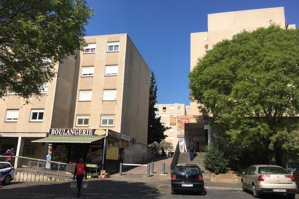 Le quartier de la Devèze à Béziers.