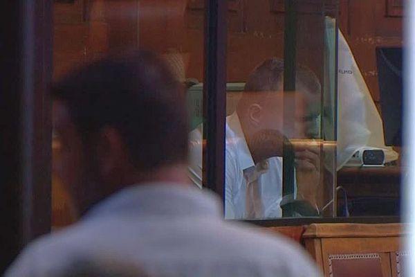 Montpellier - premier jour du procès de Morgan Blouet aux Assises de l'Hérault - 12 septembre 2016.
