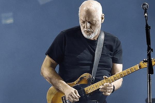 David Gilmour - décembre 2015.
