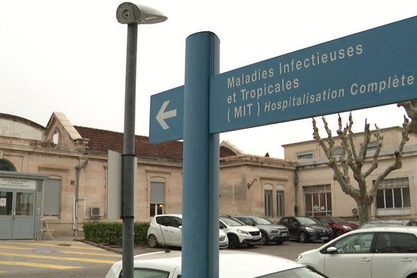 Montpellier - le service des maladies infectieuses et tropicales du CHU - archives.