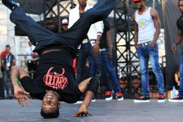 Illsutration : un concours de hip hop, Nice, septembre 2013