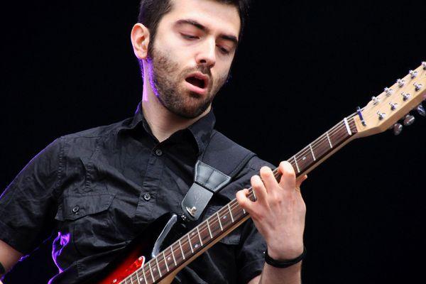 Tim Fromont Placenti jouait pour la première fois au Main Square sur une grande scène française.