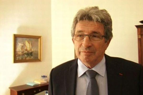 Raymond Couderc - Sénateur-maire UMP de Béziers (Hérault) - 2012.