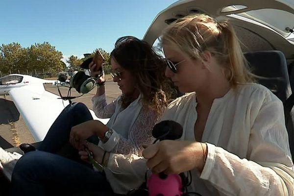 Julie et Charlotte vont s'élancer le 14 septembre pour un raid aérien de 10 000 kilomètres