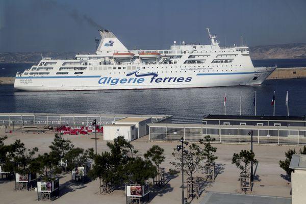Les bateaux de la compagnie maritime Algérie Ferries Europe n'ont plus transportés de passagers en direction des côtes algériennes depuis le 22 juillet 2020.