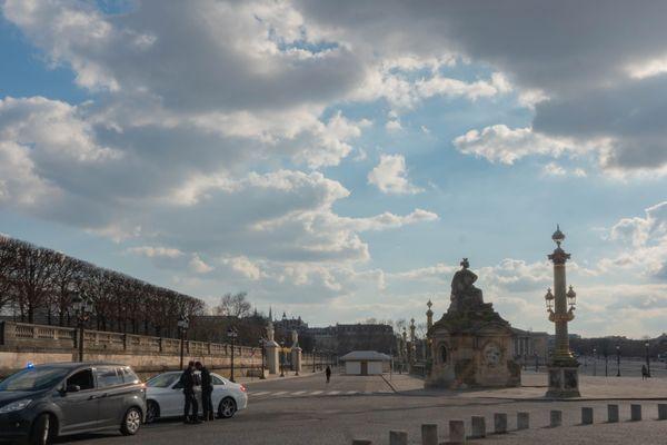 Le quartier de la Concorde, déserté