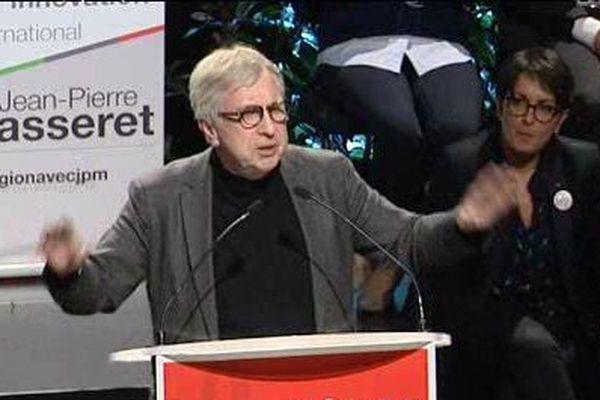 Jean-Pierre Masseret a réservé l'essentiel de ses piques à Philippe Richert, le candidat LR.