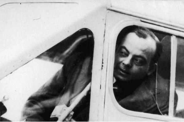 L'écrivain et pilote Antoine de Saint-Exupéry.