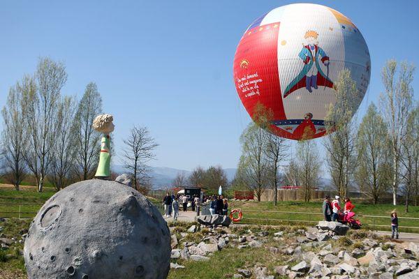 En Alsace, Le parc du Prince possède aussi un ballon captif