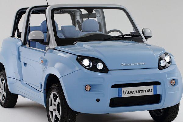 La Bluesummer, cabriolet électrique Bolloré sera fabriquée dans l'usine PSA La Janais
