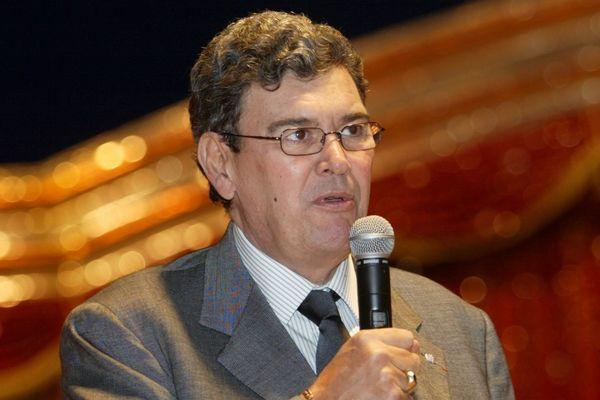 Michel Pastor, lorsqu'il était président de l'AS Monaco en 2007