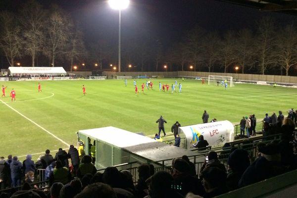 Défaite du LFC face à Tours - 2-4 - en Coupe de France de football le 2 décembre 2017.