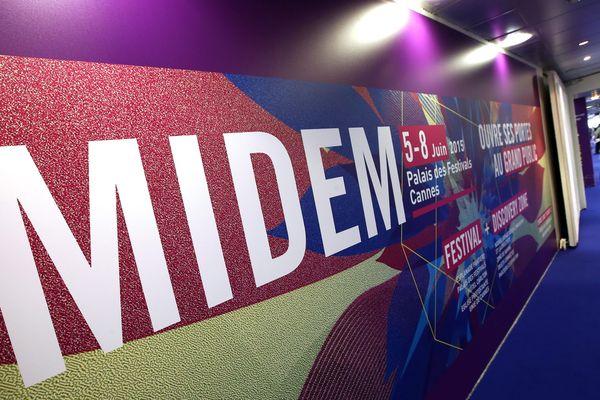 Le salon du Midem à Cannes (archives).