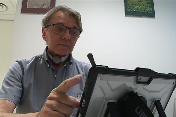 Maurice Foissac est le premier patient d'Occitanie équipé du dispositif My Own Voice.