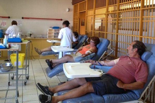 Bonne surprise au CHU de Reims : Il y avait du monde pour donner son sang ce vendredi 16 août.