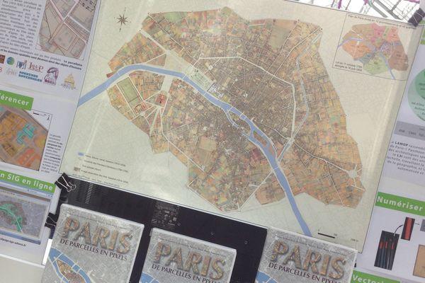 Paris, de parcelles en pixels. Presses Universitaires de Vincennes, 45€.