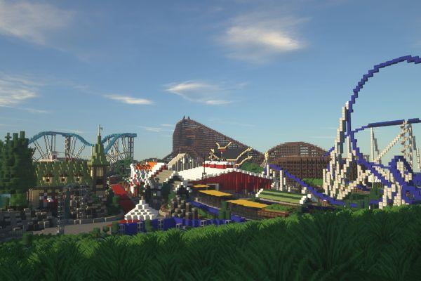 La majorité des attractions sont accessibles et fonctionnelles.