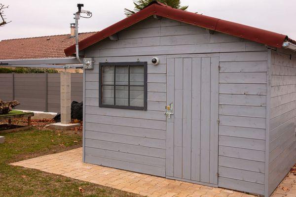L'observatoire personnel de Christian Decherf du club Sirius de Villefontaine, en Isère