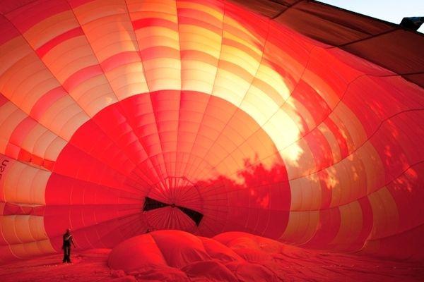 Embarquez à bord d'une montgolfière et profitez des vues imprenables.