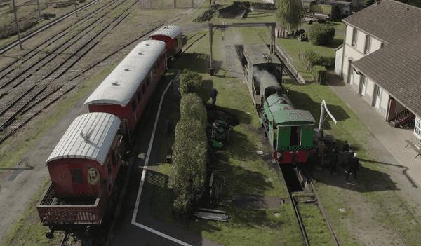 La gare de Beillé et son patrimoine ferroviaire.