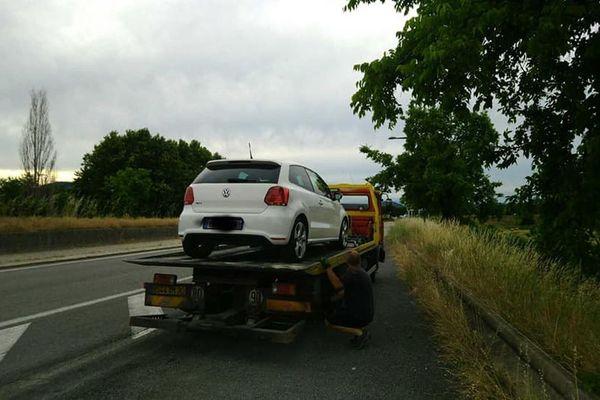 Lundi 1er juin, deux très grands excès de vitesse ont été constaté sur la RN 106 dans le Gard