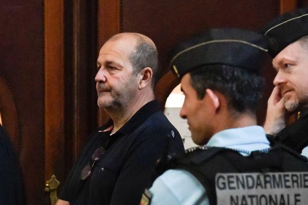 Pierre Paoli, chef présumé du FLNC, lors de son procès en juin 2018 devant la cour d'assises spéciale de Paris.