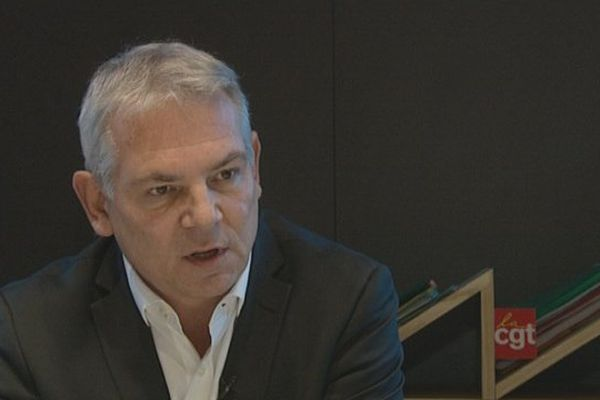 Thierry Lepaon, secrétaire général de la CGT, a répondu ce jeudi aux question de Franck Besnier