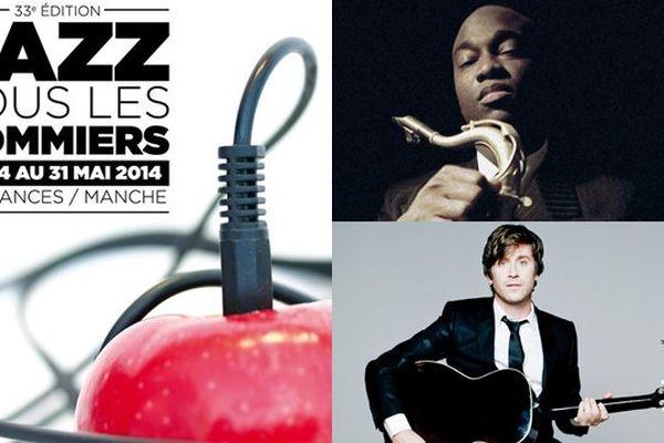 Le saxophoniste James Carter et Thomas Dutronc sont à l'affiche de la 33e édition du festival Jazz sous les pommiers