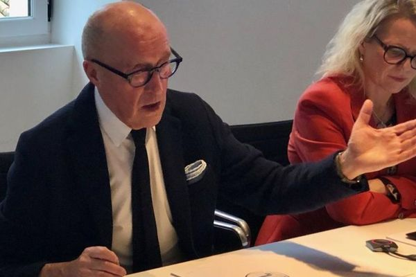 Jean-Louis Chauzy, président du Conseil Economique Social et Environnemental Régional d'Occitanie.