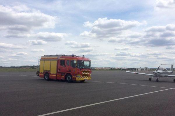 Les secours de l'aérodrome