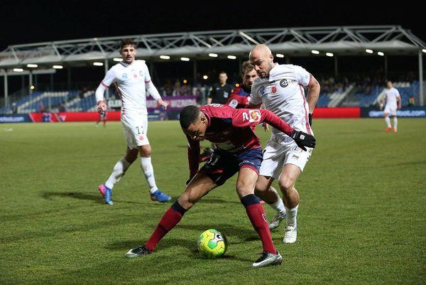 Le Clermontois Wesley Jobello le 17 février au stade Montpied