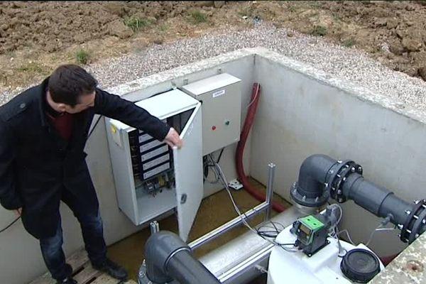 La petite station de Vercia teste un dispositif de traitement des micropolluants.