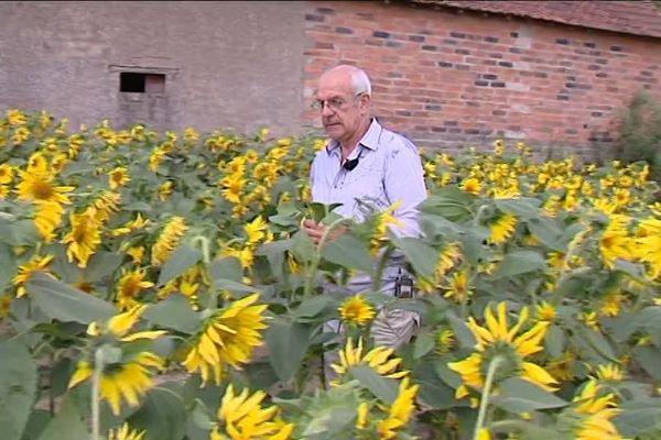 Philippe Allaire, agriculteur à Dampierre-en-Burly (Loiret)