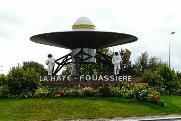 """Le rond point situé à la Haye-Fouassière, près de Nantes, pourrait être nommé le """"pire de France"""""""