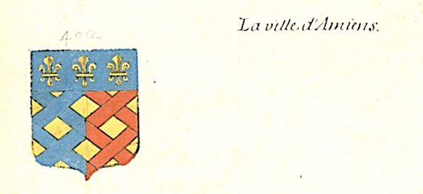 Armoiries attribuées à la ville d'Amiens - XVIIe siècle