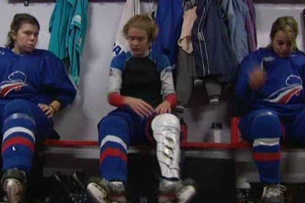 L'équipe de France féminine de hockey-sur-glace est en stage à Amiens