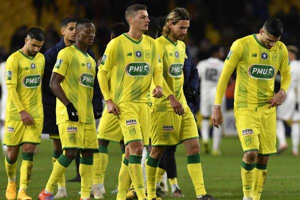 Face à Lyon, Nantes s'est inclinée à domicile, avec le score de 3 à 4.
