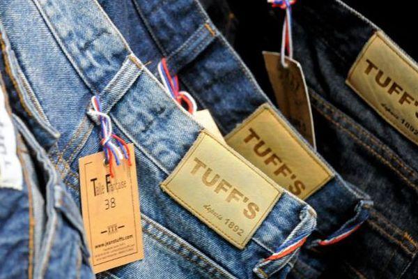 Le plus vieux fabricant de jeans de France se trouve à Florac en Lozère - juin 2018