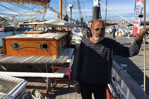 Jean-Pierre Després alias Pépo se prépare à sa dernière transatlantique sur Notre-Dame Des Flots