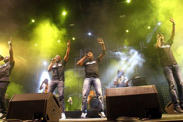 Magic System en concert à Vence en 2015