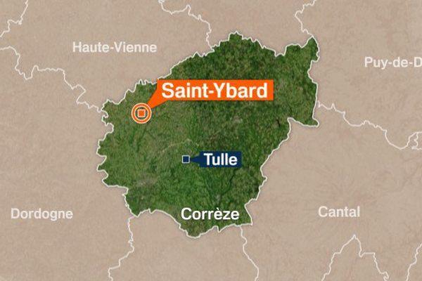L'accident de la circulation s'est produit sur l'A20 dans le sens Corrèze-Haute-Vienne au niveau de Saint-Ybard
