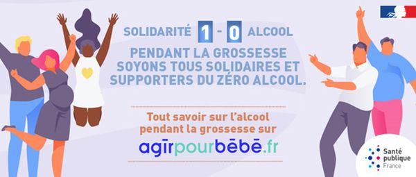 Campagne de sensibilisation de Santé Publique France.