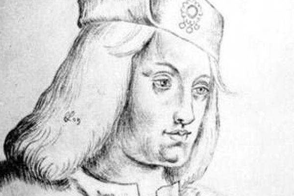 Portrait conservé à Arras de Perkin Warbeck qui prétendait être Richard de Shrewsbury, l'un des fils d'Edouard IV.